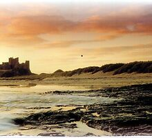Bamburgh Castle by hilarydougill