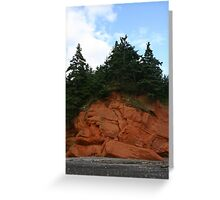 Cape Chignecto Nova Scotia Greeting Card
