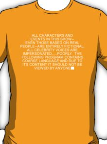 South Park - Disclaimer T-Shirt