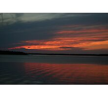 Sunset at Tobermory Photographic Print