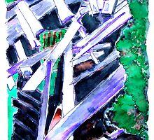 Storm Damaged Barn by Seth  Weaver
