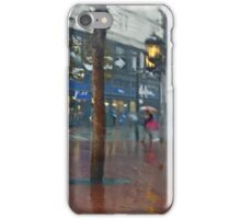 Market Street Corner Lights iPhone Case/Skin