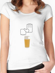 Beer Women's Fitted Scoop T-Shirt