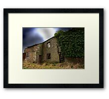 And The Heavens Opened......  Framed Print