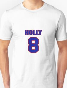 National football player Bob Holly jersey 8 T-Shirt
