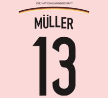Thomas MÜLLER World Cup 2014 Kids Clothes