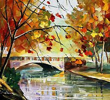 Autumn Calm — Buy Now Link - www.etsy.com/listing/214181066 by Leonid  Afremov