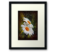 Simple Love.... Framed Print