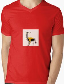 GOLD, MY PET collectable abstract art Mens V-Neck T-Shirt
