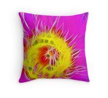 Flame On Throw Pillow