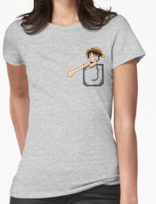 Luffy Pocket Womens Fitted T-Shirt