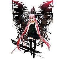 Gasai Yuno Anime Future Desolation Anime T-shirt Photographic Print