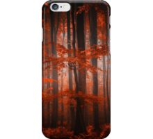 Red Parallel Universe iPhone Case/Skin