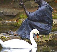 At Peace- St. Fiachra's Garden by DES PALMER