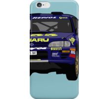 Fortitude's  'Colin McRae 555' Subaru Impreza Tribute iPhone Case/Skin