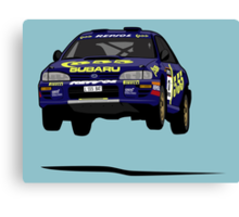 Fortitude's  'Colin McRae 555' Subaru Impreza Tribute Canvas Print