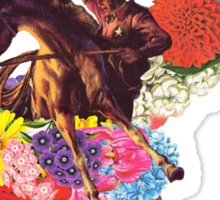 Flowers for a Badman Sticker