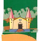 Marquesan Church - NUKU HIVA by mikeyfreedom