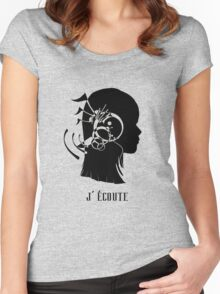 J'Ecoute Women's Fitted Scoop T-Shirt
