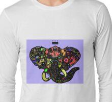 DC Elephant BLK Long Sleeve T-Shirt