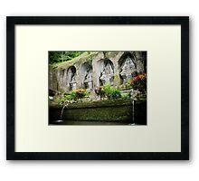 Gunung Kawi Temple, Bali, Indonesia Framed Print