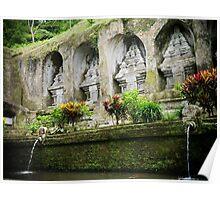 Gunung Kawi Temple, Bali, Indonesia Poster