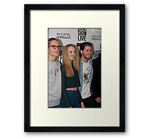 Celebrities at the Clothes Show Live 2014 in Birmingham Framed Print
