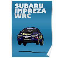 Fortitude's  'Colin McRae 555' Subaru Impreza Tribute Poster Poster