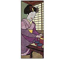 Tea Ceremony Panel 2 Photographic Print