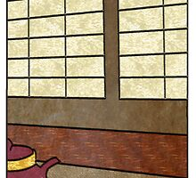 Tea Ceremony Panel 3 by Mike Connor