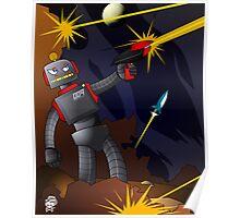 Gun Slinger Robo - Fire Fight Poster
