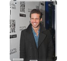 Spencer Matthews at the Clothes show live 2014 in Birmingham iPad Case/Skin