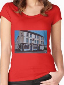 Hull, the Earl de Grey Pub Women's Fitted Scoop T-Shirt