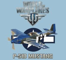 World of Warplanes P-51 Mustang Kids Clothes