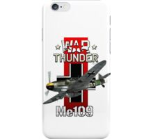 War Thunder Me109  iPhone Case/Skin