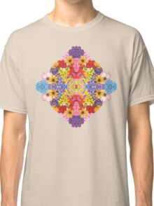 Diamond Flowers Classic T-Shirt