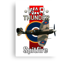 War Thunder Spitfire Canvas Print