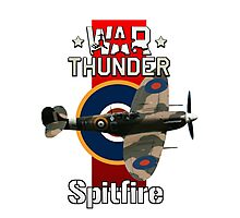 War Thunder Spitfire Photographic Print