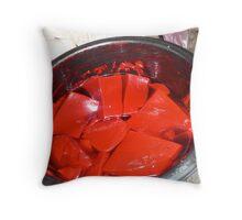 Redred Throw Pillow