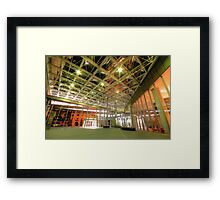 Approach The Arrow Framed Print