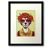 Vida en Muerte Framed Print
