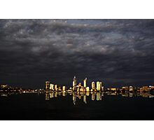 Overcast Perth Photographic Print