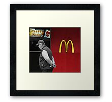 The Fast Food Nation Framed Print