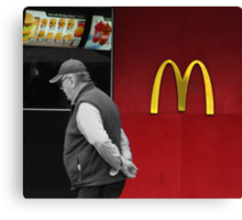 The Fast Food Nation Canvas Print