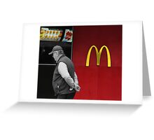The Fast Food Nation Greeting Card