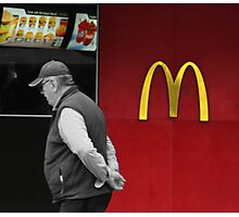 The Fast Food Nation Photographic Print