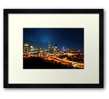 Pulse of Perth Framed Print