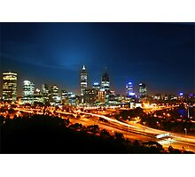 Pulse of Perth Photographic Print