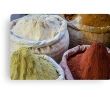 Spice Market in Harar, Ethiopia Canvas Print
