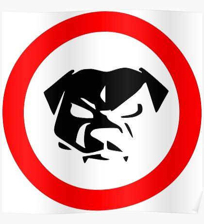 Bull Dog Poster